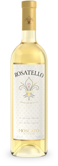Rosatello Moscato Italian sweet white wine