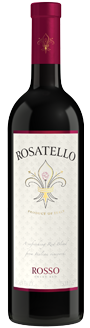 Rosatello Rosso Italian sweet red wine
