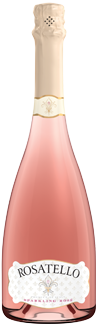 Rosatello Sparkling Rose Italian sweet wine